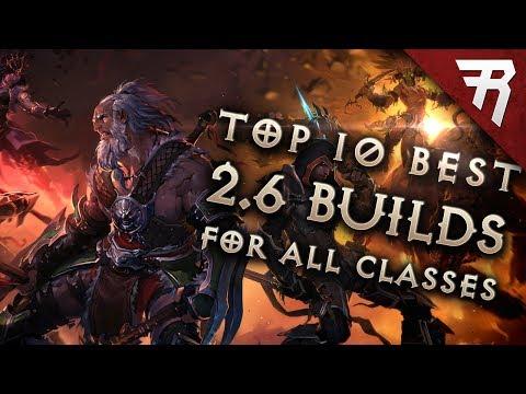 Top 10 Best Builds for Diablo 3 2.6 Season 11 (All Classes. Tier List)