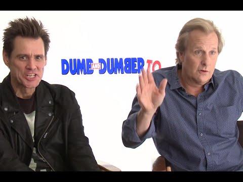 Dumb and Dumber To EXCLUSIVE Scenes   Jim Carrey & Jeff Daniels Interview