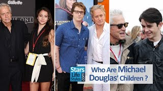 Who Are Michael Douglas' Children ? [1 Daughter And 2 Sons]
