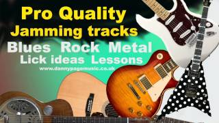 AC/DC Video - Pro Quality - Rock Guitar (ACDC ish) jam track in E with lick suggestions.