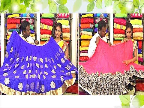 Rangoli Half Sarees Latest Designer Half Sarees