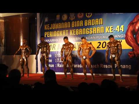 Mr Malaysia 2013 Category : Bantam Weight