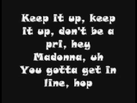 Madonna ft. Justin Timberlake - 4 minutes (lyrics)