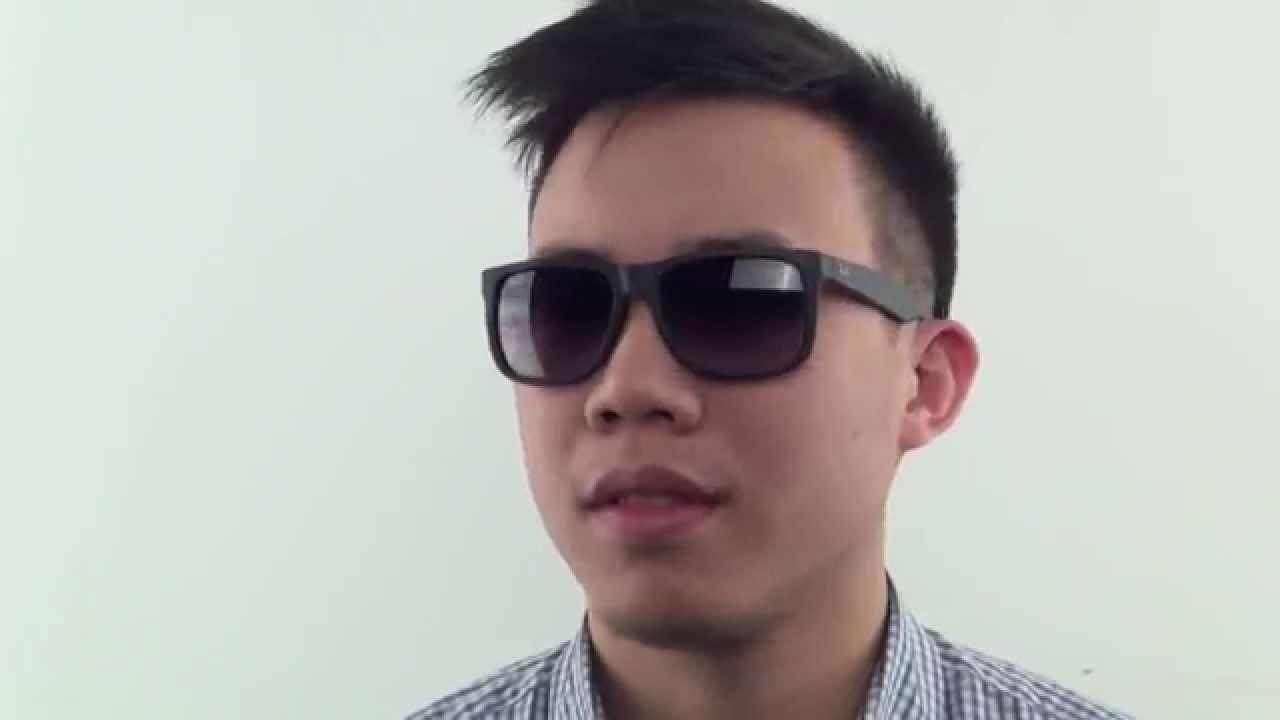 ray ban herren justin sonnenbrille