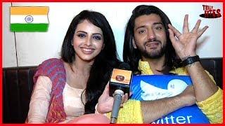 Exclusive   Kunal jaisingh & Shrenu Parikh Quiz On Republic Day