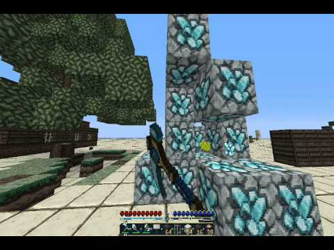 Minecraft Nodus Tutorial 1.5.2 Part 3 (AutoTool, FastPlace, WallHack, WaterWalki
