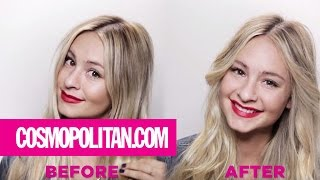 How to Curl Your Hair with a Flat Iron | Cosmopolitan