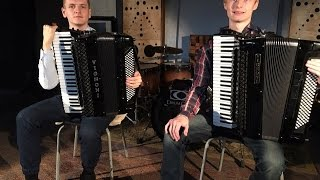 Mark Ronson - Uptown Funk (accordion cover version) AccoDuo