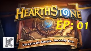 Hearthstone EP1 : funny and lucky moments hearthstone - All game highlight