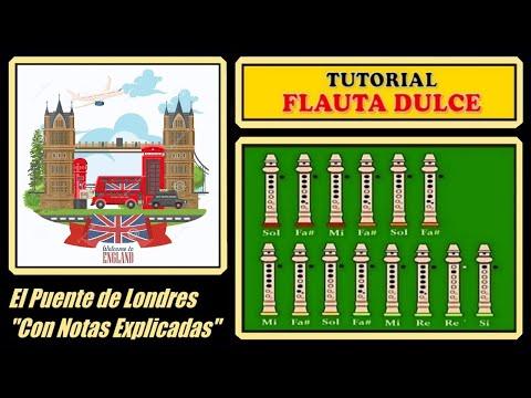 El Puente de Londres se va a Caer en Flauta
