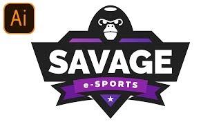 FREE Esports Gaming Logo #2 | Clan/Team/Mascot Logo | Adobe Illustrator Free Logo Templates