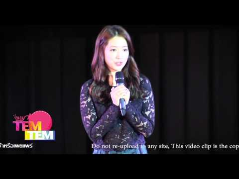140920 Park Shin Hye 2014 Asia Tour : Story of Angle in Thailand | Fan Meeting