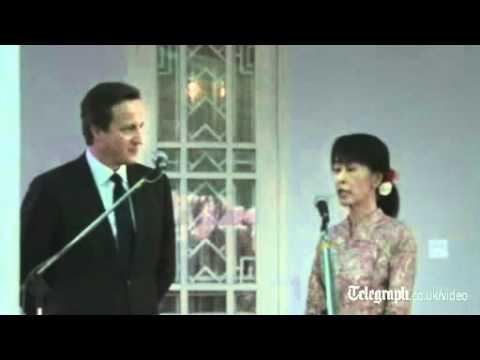 Suu Kyi welcomes suspension of Burma sanctions