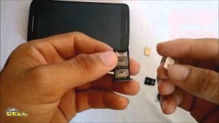 Colocando os Chips e cartão de memoria no Moto X Play (XT1563) #UTICell