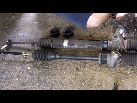 Ae86 Power To Manual Steering Rack How To Youtube