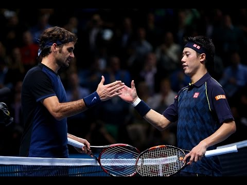 2015 Hot Shots of the Year - Roger Federer and Kei Nishikori