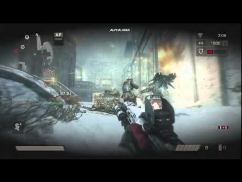 KILLZONE 3 BETA: Infiltrator Class playing Operations [720p]