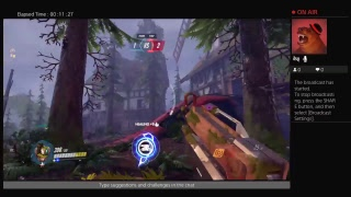 Overwatch stream Hrambe attack