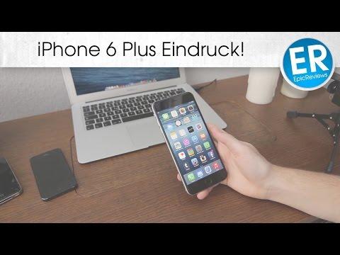 iPhone 6 Plus erste Eindrücke, Größenvergleich - Labervideo