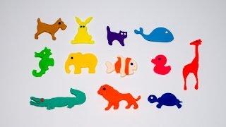 Vui học cùng Bé Bí Bo - Nặn và gọi tên các con vật bằng đồ chơi đất sét Play Doh