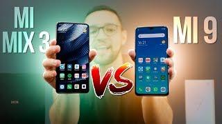 Xiaomi Mi 9 vs Mi Mix 3 | comparativo entre os TOPOS de LINHA da Xiaomi!