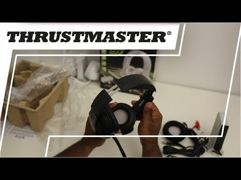 Thrustmaster Y400 Series Wireless Gaming Headset : UNBOXING