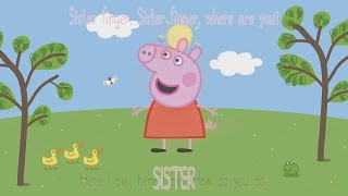 PEPPA PIG Finger Family Super Cartoon Collection 1 Hour Long Playing Video