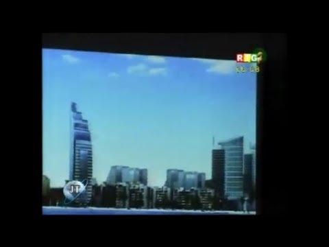 JT RTG DU 01.09.2013.La nouvelle ville que le président Alpha Condé entend construire à Conakry