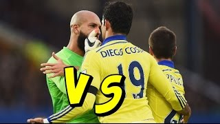 Diego Costa vs Tim Howard