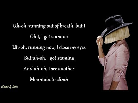 Sia - THE GREATEST (Lyrics) ft. Kendrick Lamar