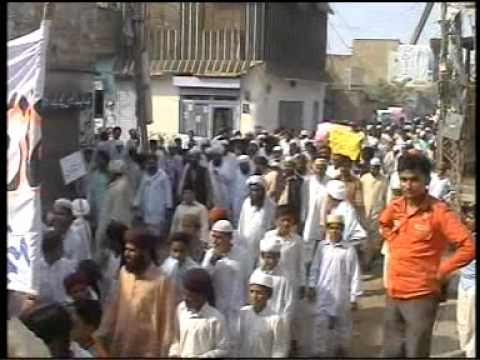 Haveli Lakha Ary Protest Mumtaz Qadri By M.a.sajid video