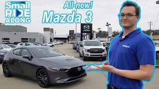 ALL-NEW 2019 Mazda3 Hatchback Premium Package Review & Test Drive