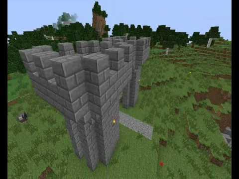 Minecraft Edificios Medievales