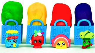 10 Play-Doh Surprise Eggs Shopkins Toy Story Lalaloopsy Disney Frozen Star Wars Smurf Toys FluffyJet