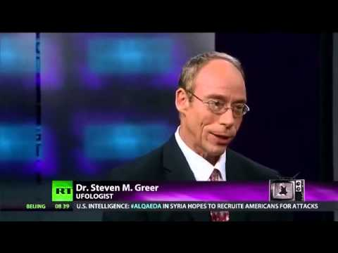 UFOs - RT RUSSIA TODAY Interviews Dr Steven Greer - 10th January 2014