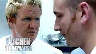 Chef Ramsey Makes Waiter Cry | Kitchen Nightmares