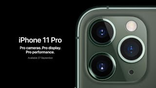 iPhone 11 Pro Max First Look - The Triple Camera Monster
