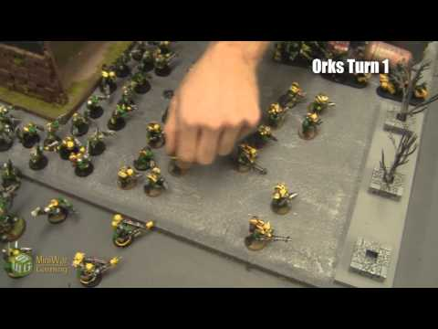 Beat The Cooler Batrep: Orks vs Tau Part 1/4
