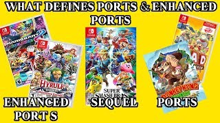 What Defines A Port & Enhanced Port | Why Super Smash Bros. Ultimate Is Brand New