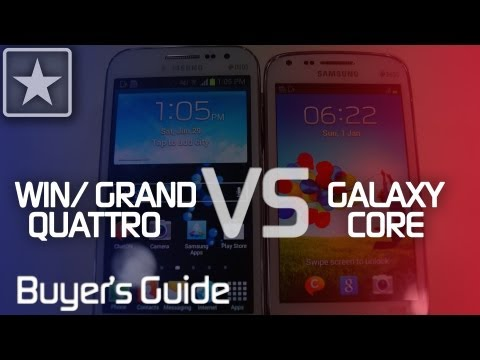 Galaxy Core vs Grand Quattro   Buyer's Guide