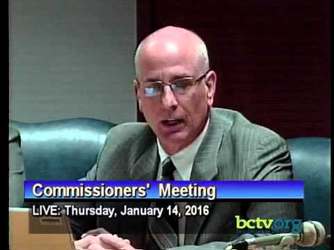 County of Berks Commissioners' Meeting. January 14th, 2016
