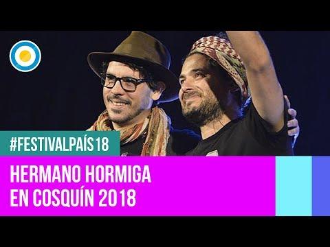 Festival País '18 - Hermano Hormiga en el Festival Nacional de Folklore de #Cosquín2018