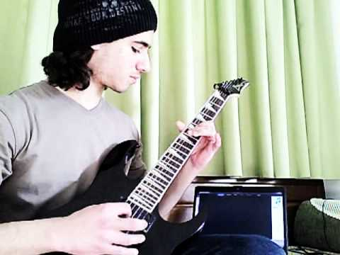 Skrillex - Bangarang (ft. Sirah) - Guitar Cover