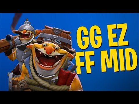 GG EZ FF MID - DotA 2 Techies Full Match