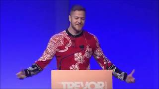 download musica Dan Reynolds speech at the Trevor Project Live
