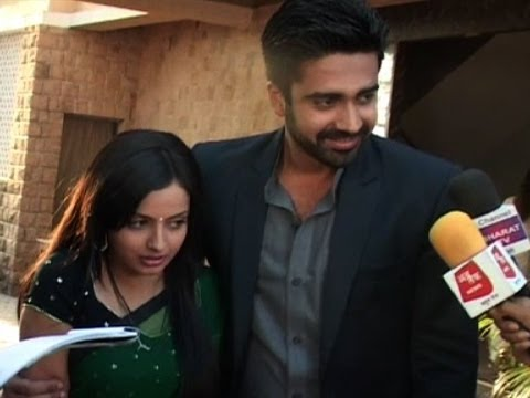 media aastha and shlok rain scenes
