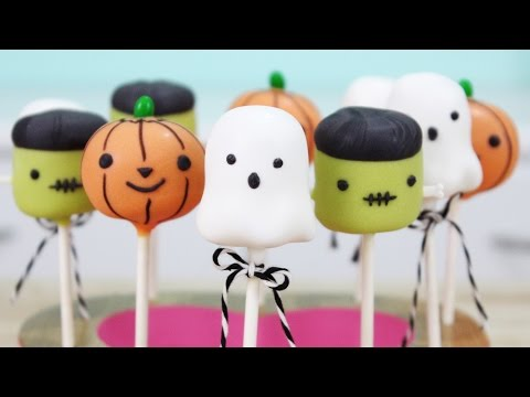 How to Make Halloween Cake Pops!
