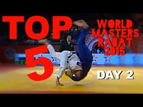 TOP 5 IPPONS DAY 2 | 柔道 Judo World Masters Rabat 2015 | JudoAttitude