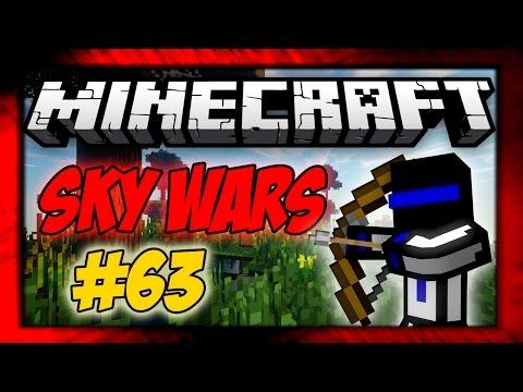 ЗОЛОТЫЕ ЯБЛОКИ! 63 Sky Wars - MINECRAFT
