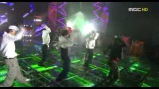 Hyun Joong and SS501 dance battle